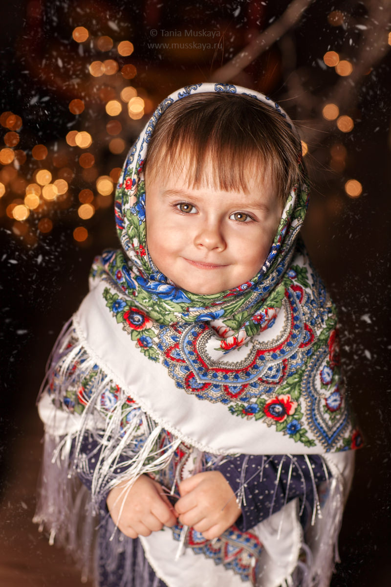 Новогодняя фотосессия в Москве
