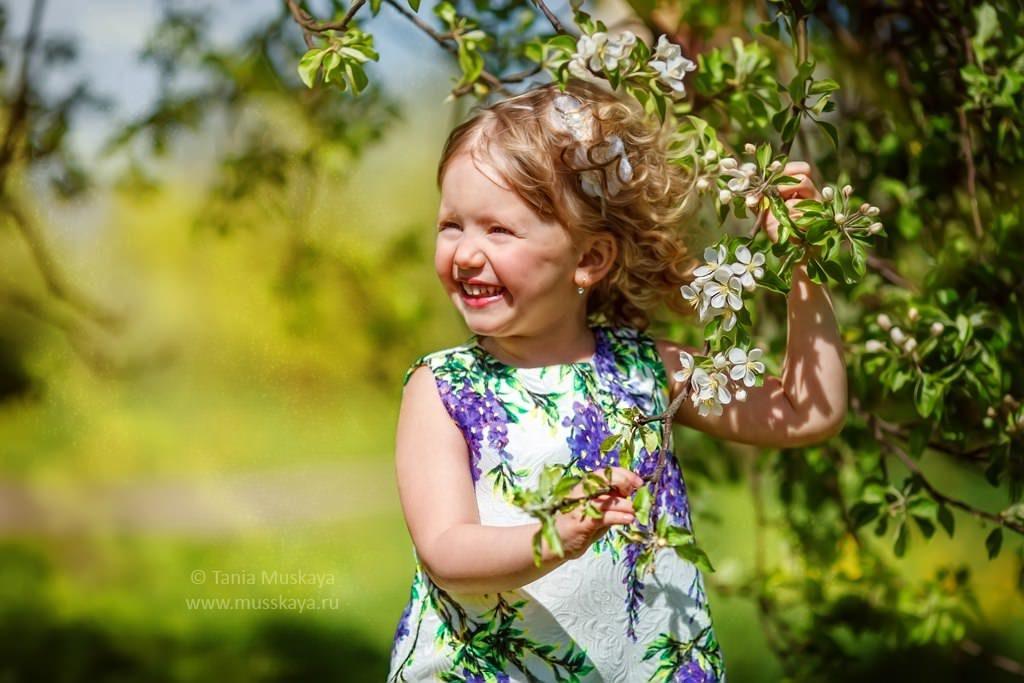 фотосессия в яблонях
