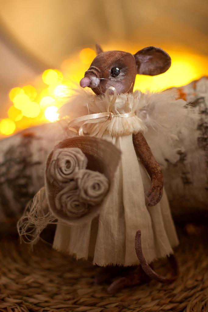 новогодняя фотосессия с мышами