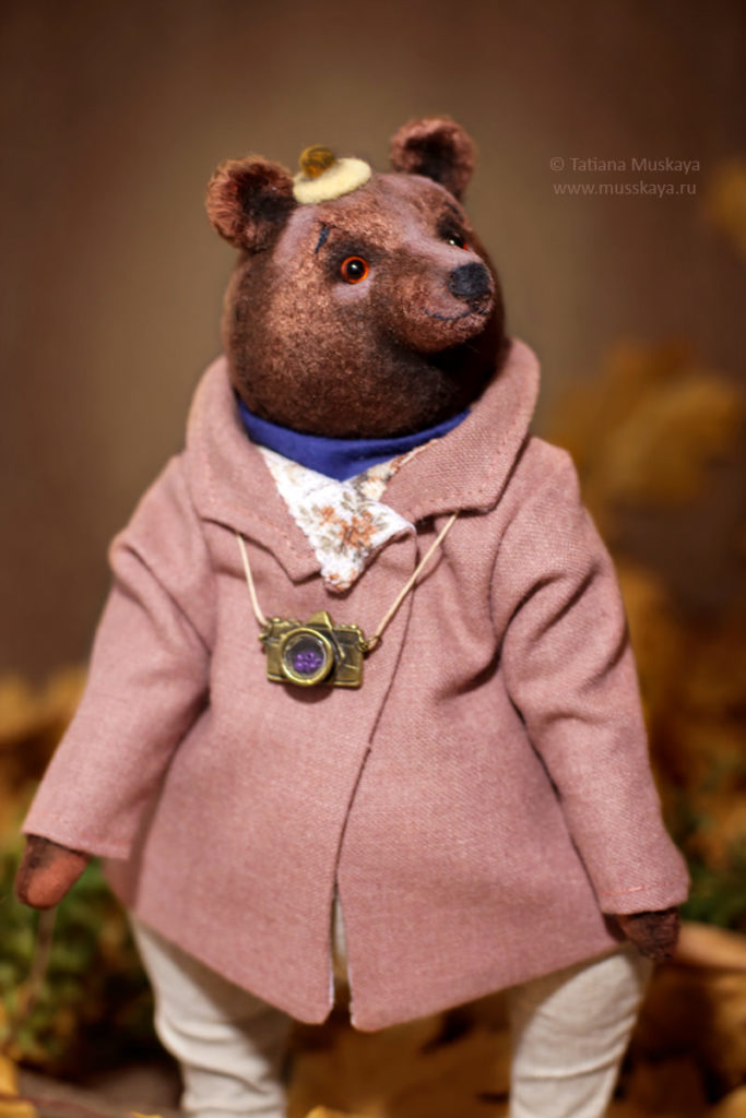 Мишка-тедди. Малыш Уилсон