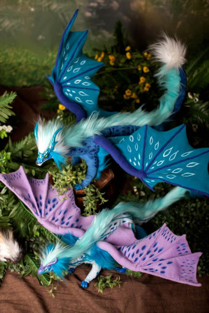 фотосессия с драконами