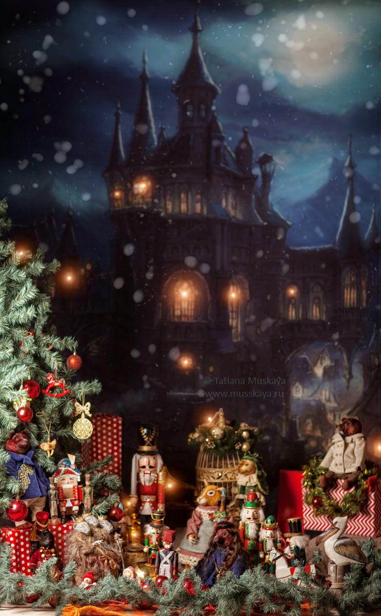 Новогодний зал Щелкунчик