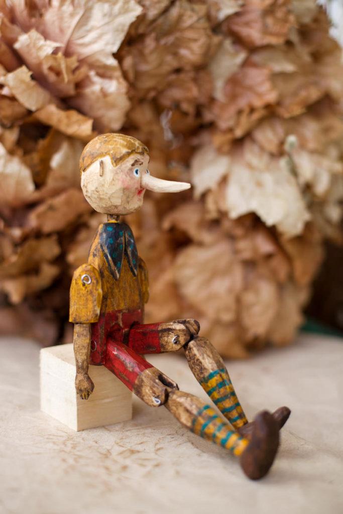 Буратино деревянная кукла