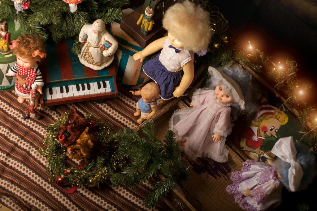 Новогодняя фотосессия Советский новый год